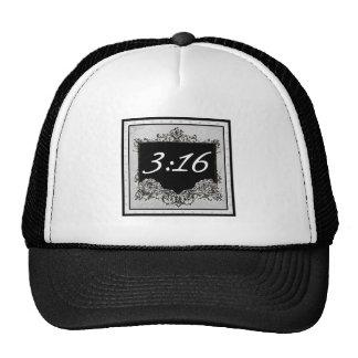 """John 3:16 """"For God so loved the world that..."""" Trucker Hat"""