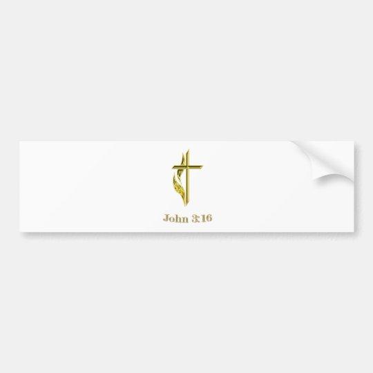 John 3:16 gifts bumper sticker