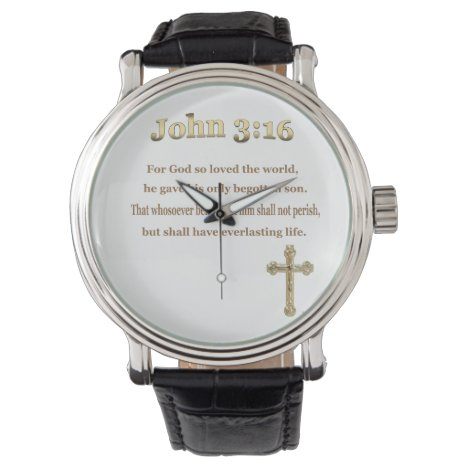 John 3:16 gifts watch