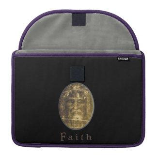 John 3:16 Gold cross Sleeve For MacBooks