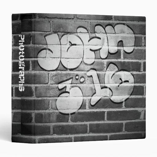 "John 3:16 Graffiti 1.5"" Photo Album Vinyl Binder"