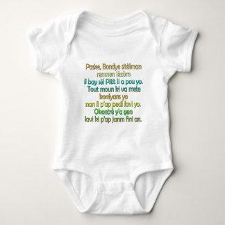 John 3:16 Haitian Creole Baby Bodysuit