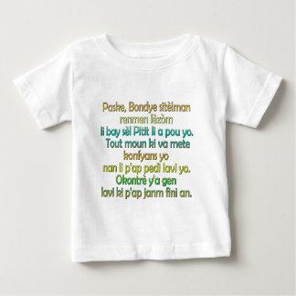 John 3:16 Haitian Creole Baby T-Shirt