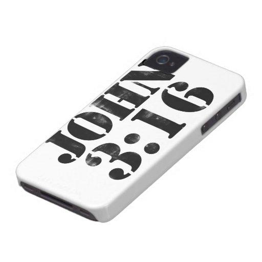 John 3:16 iPhone 4 Case-Mate cases