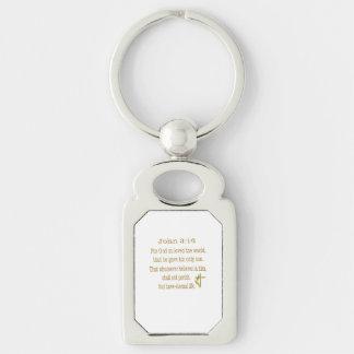 John 3:16  items keychain