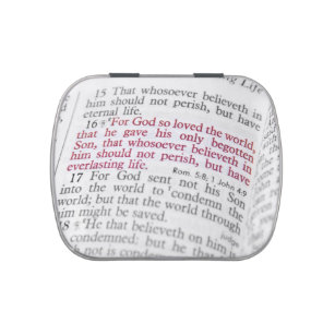 John 3:16 jelly belly tin