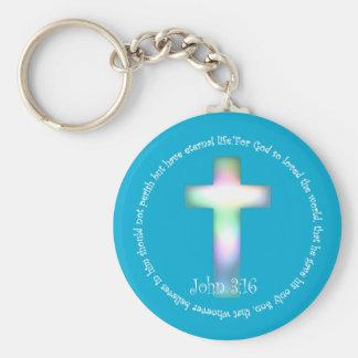 John 3:16 keychain