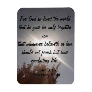 John 3:16 Magnet