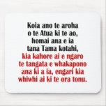 John 3:16 Maori II Mouse Pad