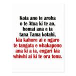John 3:16 Maori II Postcard