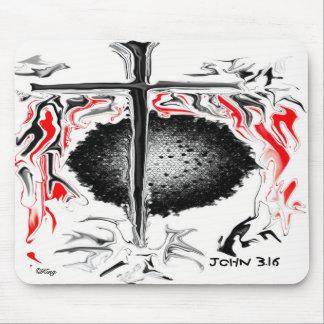 """""""John 3.16"""" Mouse Pad"""