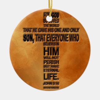 John 3 16 Ornament
