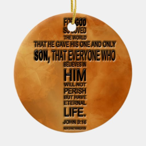 John 3:16 Ornament