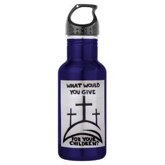 John 3:16 18oz water bottle