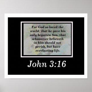 John 3:16 poster