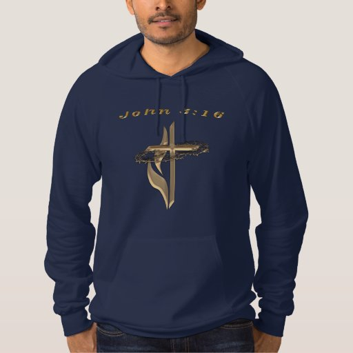 John 3:16 products hooded pullover