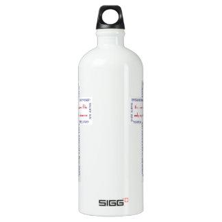 John 3:16 Red, White and Blue Cross SIGG Traveler 1.0L Water Bottle