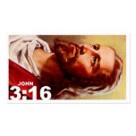 John 3:16 revised Double-Sided standard business cards (Pack of 100)