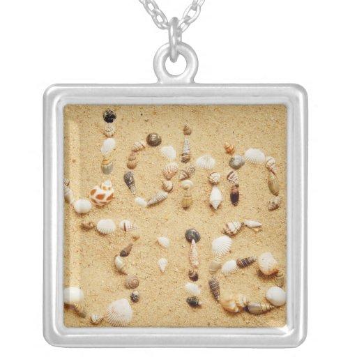 John 3:16 Seashell Necklace