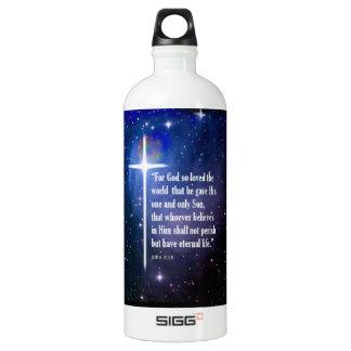 John 3:16 SIGG traveler 1.0L water bottle