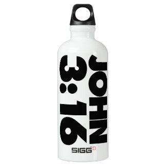 John 3:16 SIGG traveler 0.6L water bottle