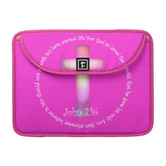 John 3:16 sleeve for MacBook pro