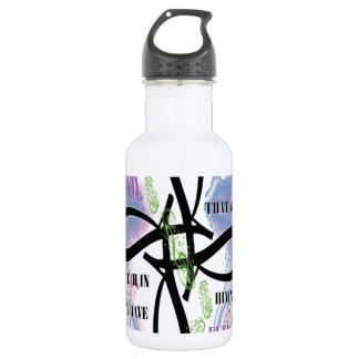 John 3:16 tattoo design 18oz water bottle