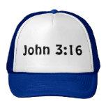 John 3 16 trucker hat