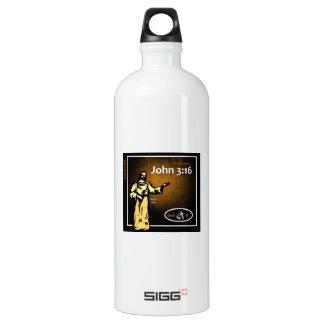 John 3:16 - White-2 SIGG Traveler 1.0L Water Bottle