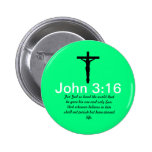 John 3:16 with Scripture Green Button