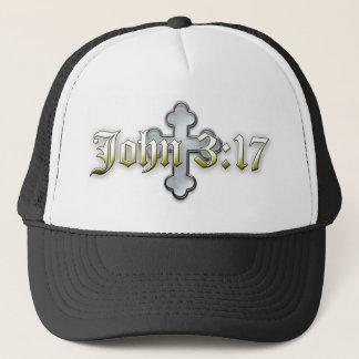 John 3:17 trucker hat