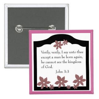John 3-3  Kingdom of God button