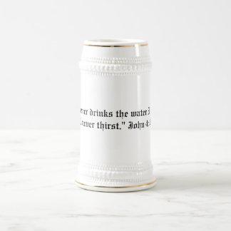 John 4:14 beer stein