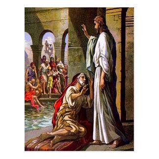 John 5:1-15 Take Up Your Mat and Walk postcard