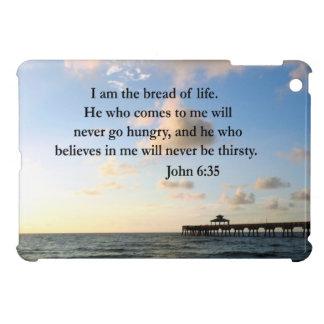 JOHN 6:35 OCEAN PHOTO iPad MINI CASES
