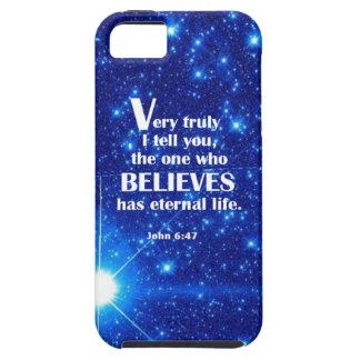 John 6:47 iPhone 5 cover