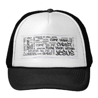 John 7:37-41 White Water Trucker Hat