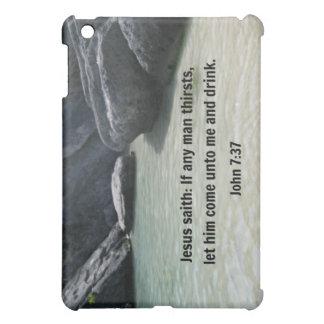 John 7:37 iPad mini covers