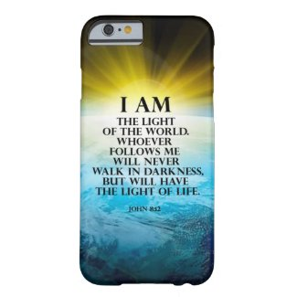 John 8:12 iPhone 5 cases