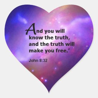 John 8:32 sticker
