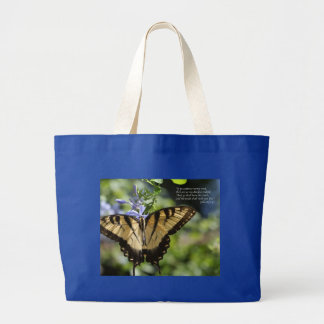 John 8 Yellow Swallowtail Butterfly Tote Bags