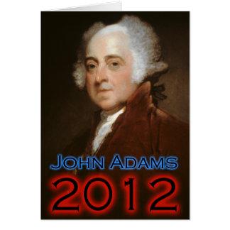 John Adams 2012 Poster Card