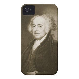 John Adams 2do Presidente de los Estados Unidos d iPhone 4 Carcasas