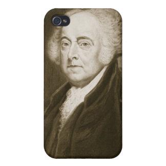 John Adams 2do Presidente de los Estados Unidos d iPhone 4 Fundas
