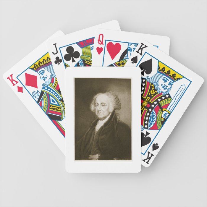 John Adams, 2nd President of the United States of Bicycle Playing Cards