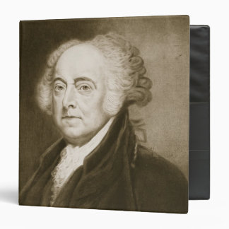 John Adams, 2nd President of the United States of Binder