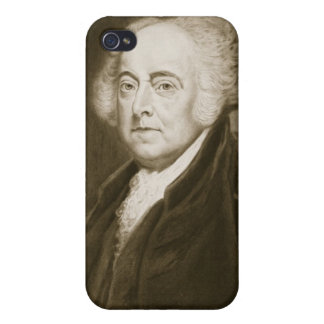 John Adams, 2nd President of the United States of Cover For iPhone 4