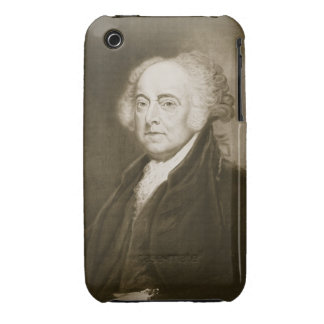 John Adams, 2nd President of the United States of iPhone 3 Case-Mate Cases