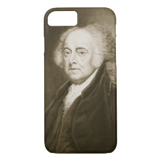John Adams, 2nd President of the United States of iPhone 8/7 Case