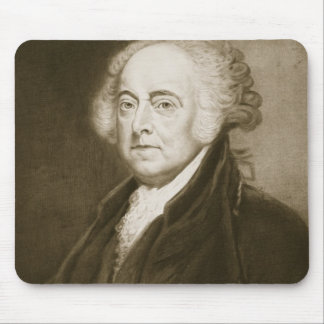 John Adams, 2nd President of the United States of Mouse Pad